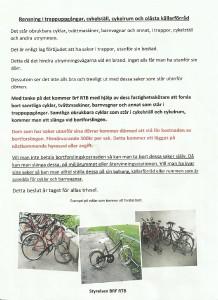 Rutiner cyklar RTB 021